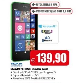 Nokia Lumia 630 in offerta