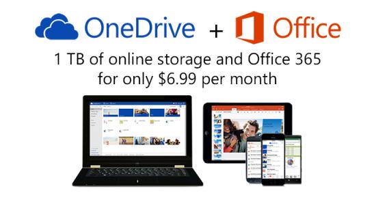 OneDrive nuove tariffe