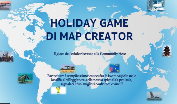 Holiday Map Creator