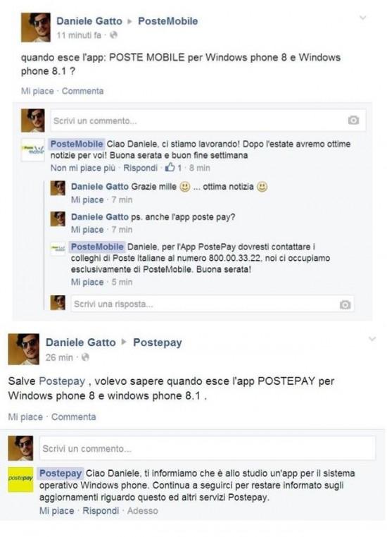 PostePay e PosteMobile per WP