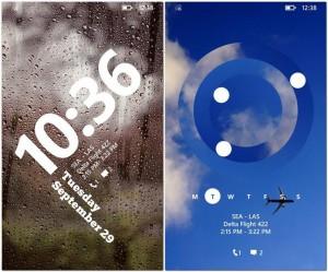 nuovo lockscreen WP8.1