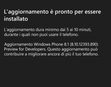 Update WP8.1 Preview