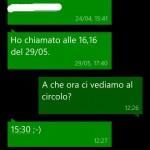 Creare eventi da SMS