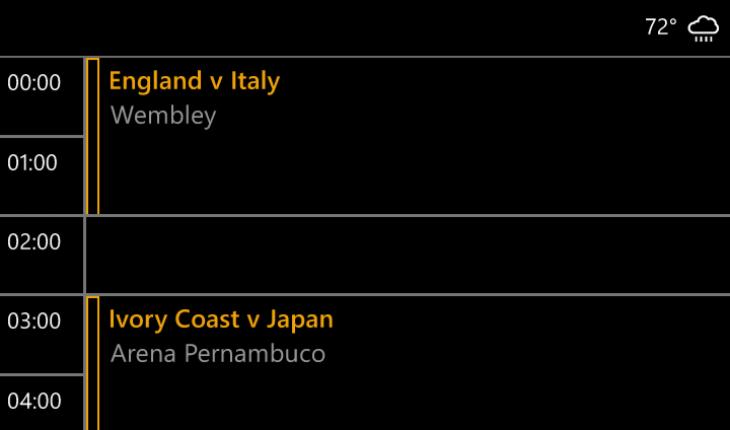 Calendario Mondiali