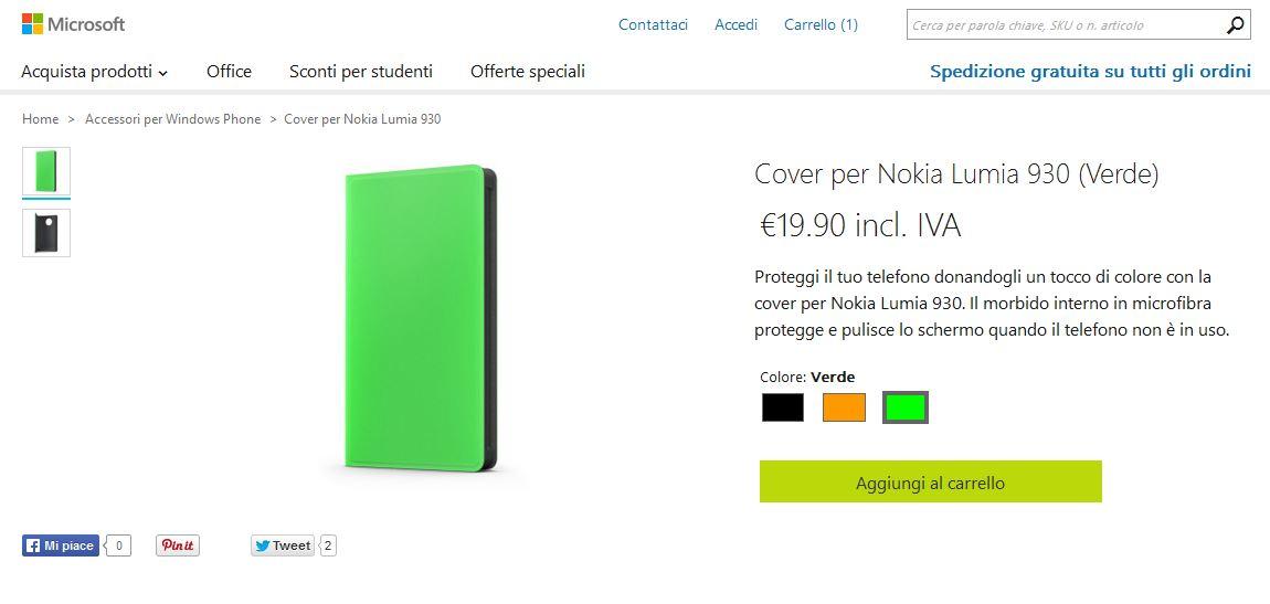 Flip Cover Lumia 930