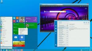 Windows 9 - menu Start