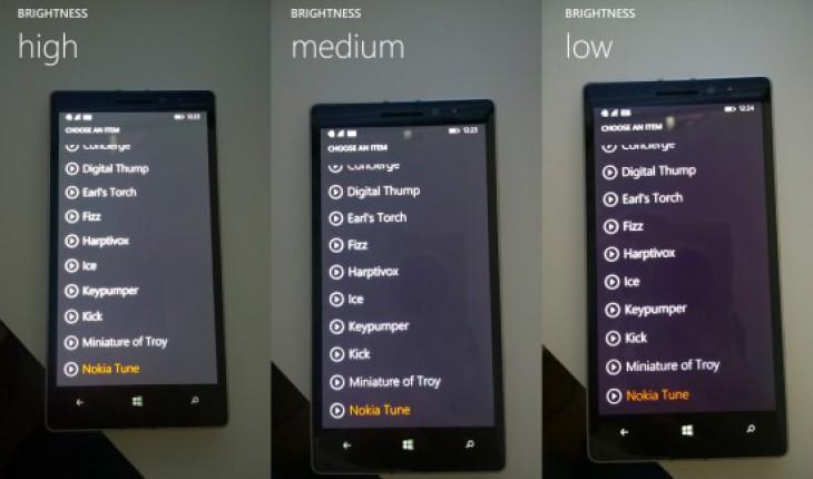 Problema gestione colori Lumia 930