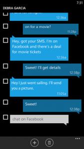 Selezione multipla SMS