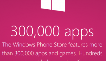 300 mila apps nel Windows Phone Store