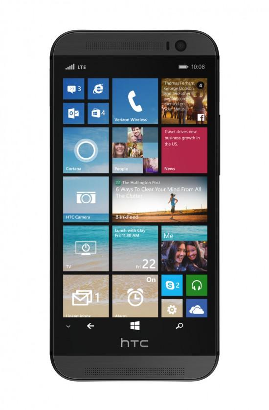 HTC One con WP8.1