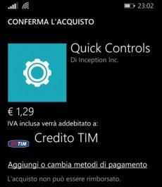 Acquisti con credito TIM