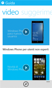 Guida di Windows Phone 8.1