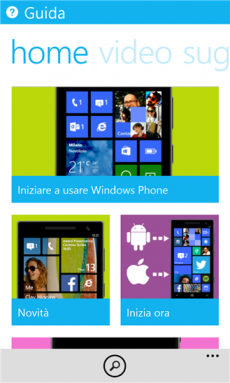 Guida di Windows Phone 8.1