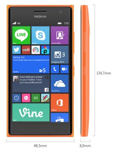 Nokia lumia 730 specifiche tecniche foto e video for 730 precompilato accedi
