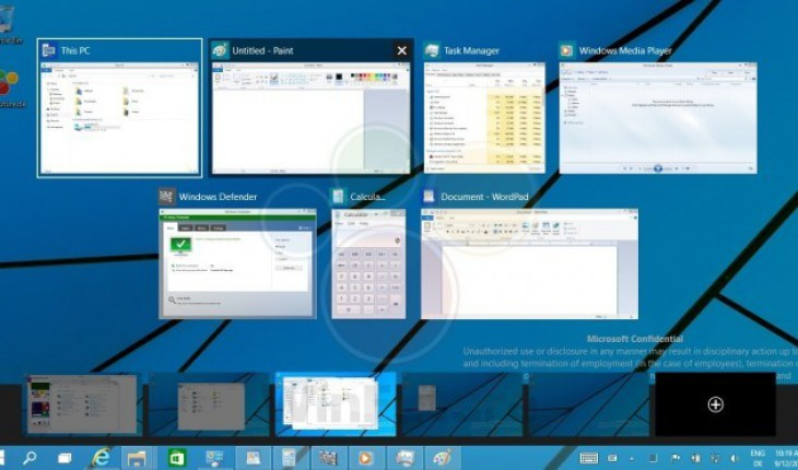 Windows 9 - Desktop Virtuali