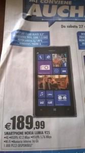 Nokia Lumia 925 in offerta
