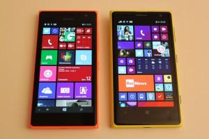 Nokia Lumia 735 e Nokia Lumia 1020