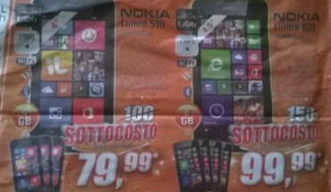 Offerta Lumia 530 e 630