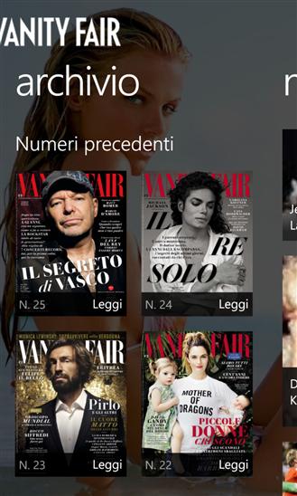 vanity fair italia l app ufficiale popolare magazine