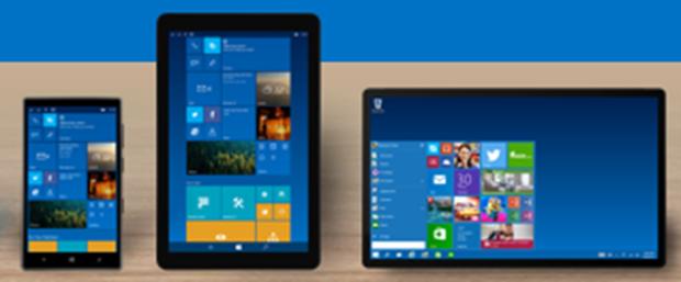 Windows 10 ecco come potrebbe essere l 39 interfaccia dei for Smartphone piccole dimensioni