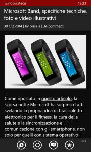Windowsteca App con tema nero