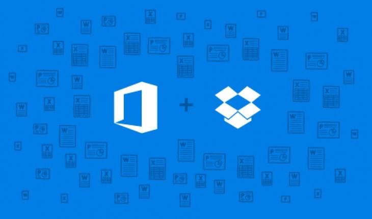 Microsoft e Dropbox