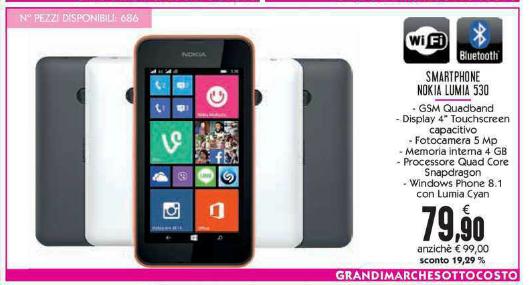 Offerta Lumia 530