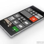 Rendering di un Windows phone