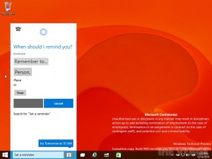 Windows 10 - Technical Preview for Consumer (Build 9901)