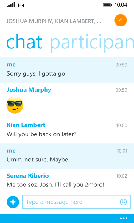 Skype v2.25