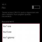 Nuova opzione Cortana