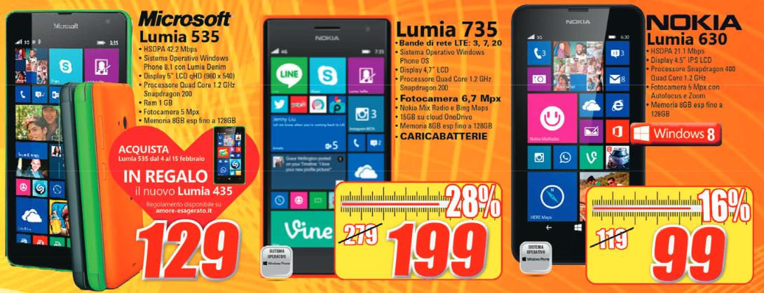 Offerta Expert Acquista Un Lumia 535 A 129 Euro E Ricevi In Omaggio