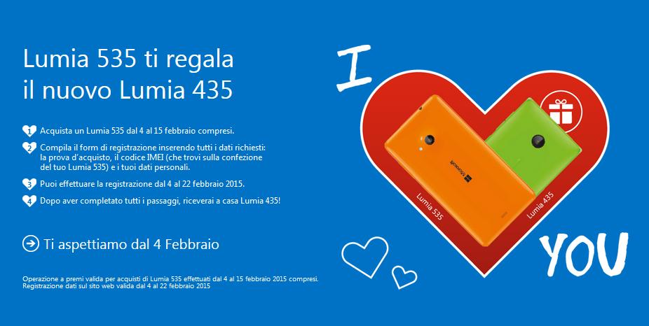 Promo Lumia 435