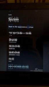 Probabile interfaccia di Windows 10 per smartphone