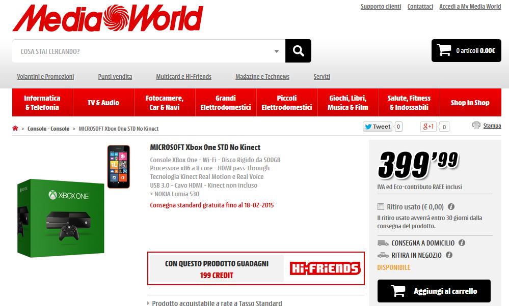 Offerta MediaWorld