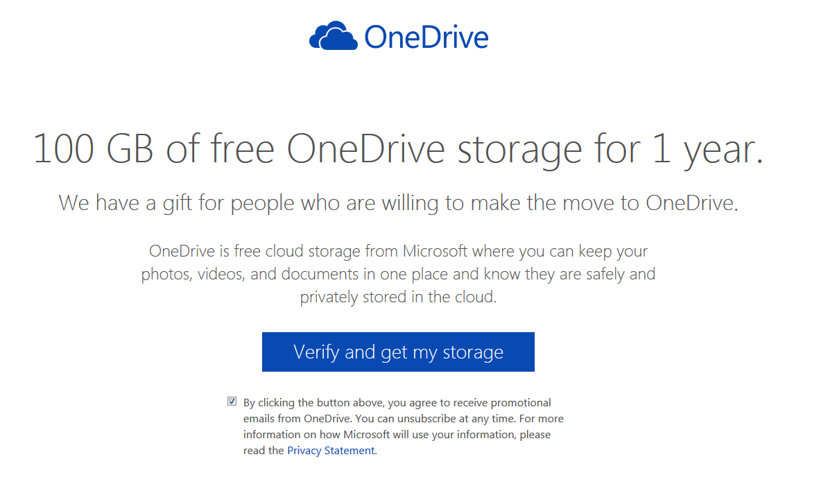 OneDrive Free