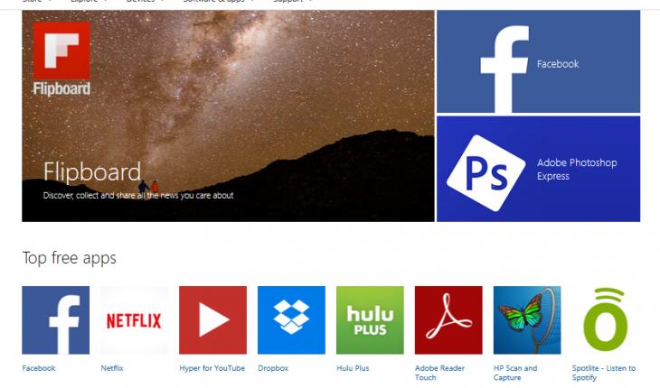 Nuovo Windows Store
