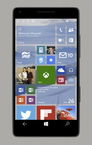 Windows 10 per Smartphone