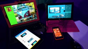 Windows Phone con Tile allungata