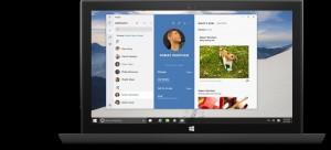 People Hub Windows 10 Preview