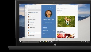 People Hub Windows 10 Preview