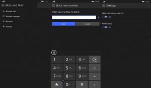 Block and Filter su Windows 10
