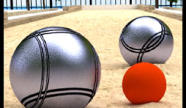 Bocce 3D logo