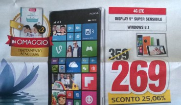 Lumia 830 in offerta da Comit