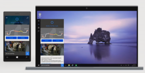 Cortana su Windows 10