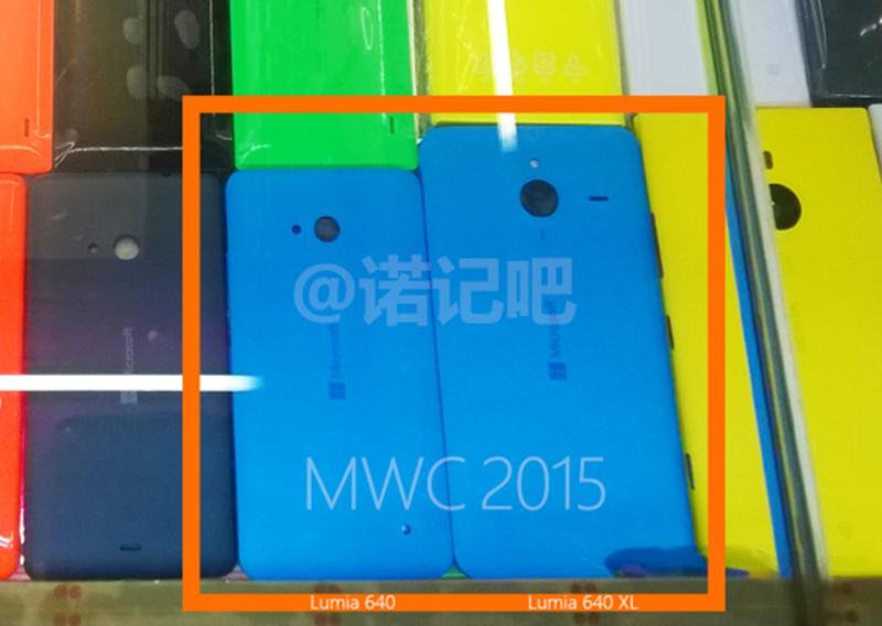 Presunti Lumia 640 e 640 XL