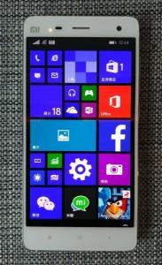 Xiaomi MI4 con Windows 10
