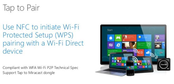 Tap to pair su Windows 10