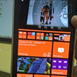 Split-screen su un Lumia 930