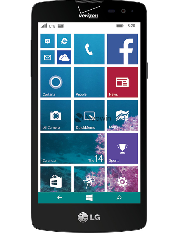 presunto nuovo Windows Phone di LG